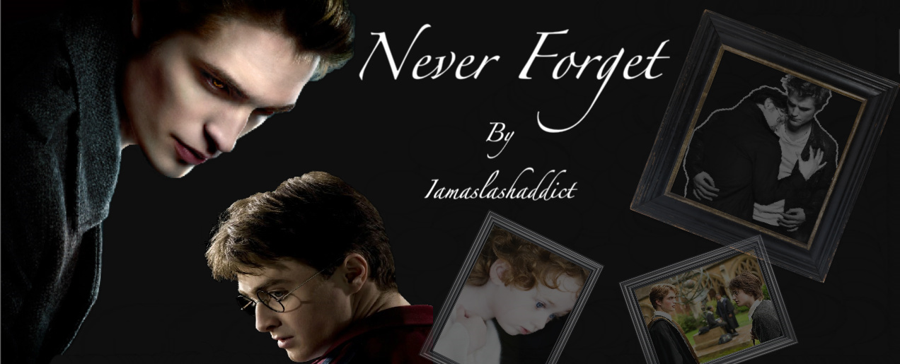 Never Forget – Chapter Five (Twilight/HP, Edward(Cedric
